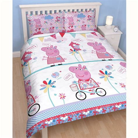 peppa pig bedding peppa pig tweet double doona cover set new kids bedding