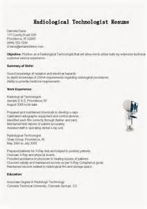 sample resume for xray tech 4 - Sample Resume For Radiologic Technologist
