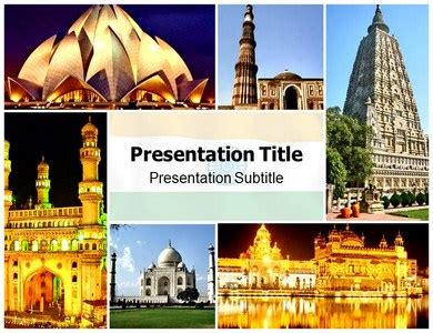 medical tourism in india powerpoint templates and backgrounds