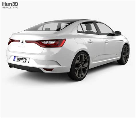 renault sedan 2016 renault megane sedan 2016 3d model hum3d