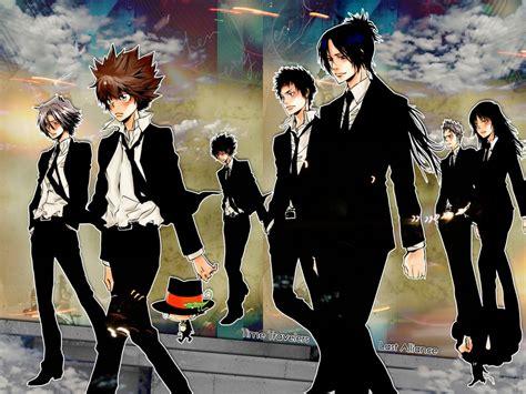 anime secrets zone 183 katekyo hitman reborn