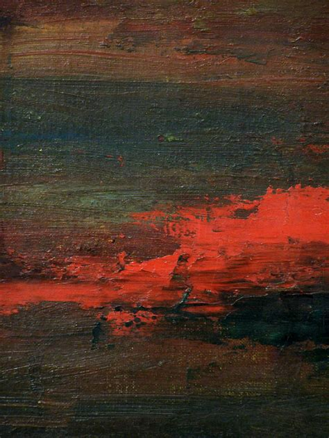 For Sale Abstract Landscape Paintings 5250 Leech Abstract Modern Expressionist