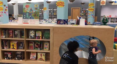 childrens section kid s section at harold washington library reopens