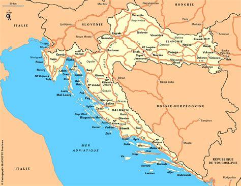 Geos Mere Et Moi Blue Map la croatie normal normaux bicyclette velo