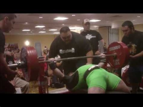 single ply bench press aaron pomerantz 507 lbs 230 kg 165 single ply teen