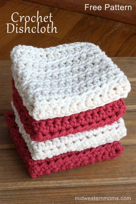 pattern crochet dishcloth free crochet pattern dishcloth midwestern moms