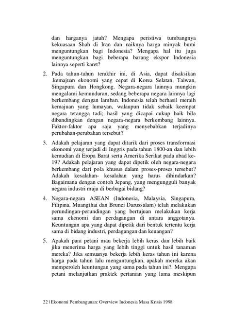 Perekonomian Indonesia Tantangan Dan Harapan Bagi Kebangkitan Indonesi ekonomi pembangunan dan perekonomian indonesia