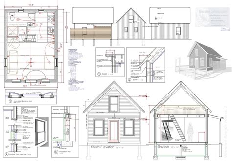 Exle Of House Plan Blueprint Sle House Plans | new tiny house plans free 2016 cottage house plans