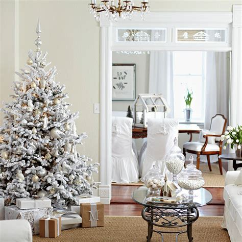 Decorated White Trees by Still Waters Notes From A Virginia Shire