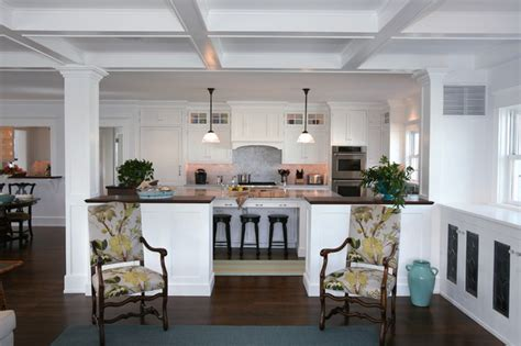 Coastal Kitchen Rugs - beach house kitchens beach style kitchen philadelphia by asher associates architects