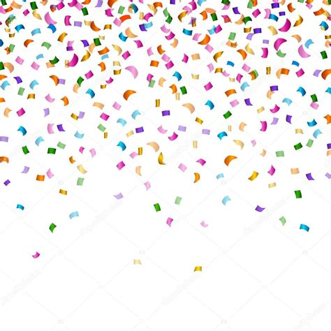 imagenes vectores fiesta vector fondo fiesta con confeti vector de stock
