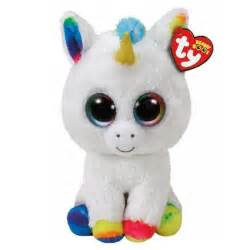 Dress For Company Christmas Party - ty beanie boos pixy white unicorn fantasy figures