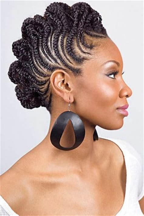 african american updo hairstyle pictures french braid for ethnic hairstylegalleries com
