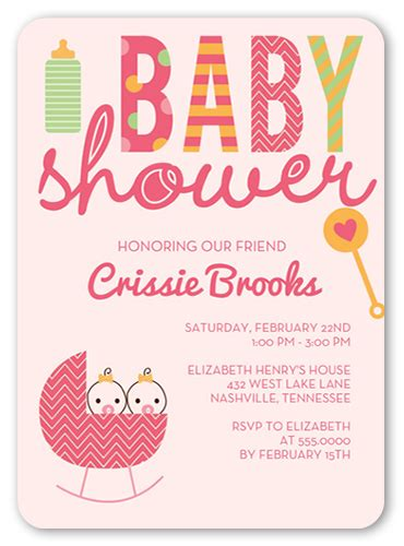 Baby Shower Only For Born by Invitations Shutterfly