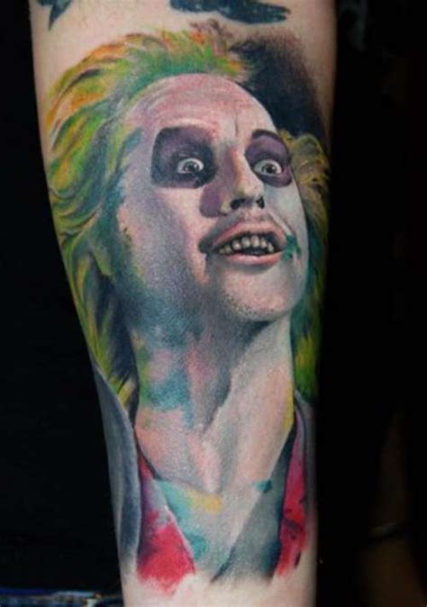 beetlejuice tattoo 21 tattoos that will make your jaw drop