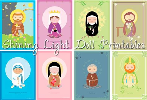 printable ornaments for catholic kids all saints day ideas for