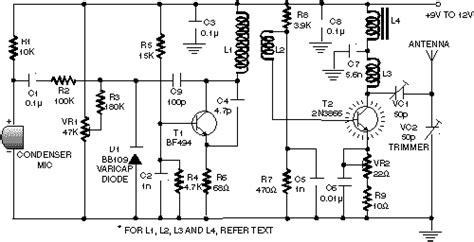 wifi receiver circuit diagram circuit and schematics diagram wireless headphones transmitter circuit