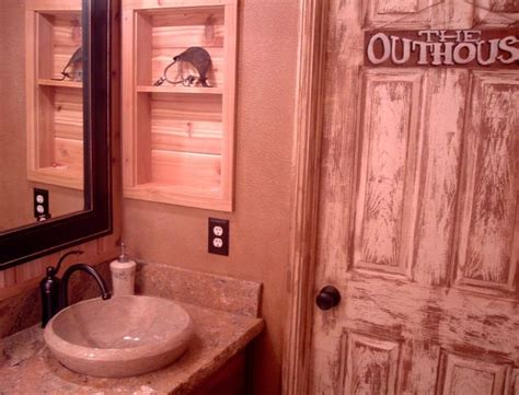 outhouse bathroom ideas 1000 images about my outhouse themed bathroom on pinterest