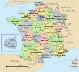 Infos sur : carte region france   Arts et Voyages