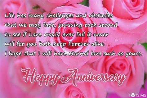 Wedding Anniversary Quotes For My Parents by Anniversary Wishes For Parents Quotes Messages Images