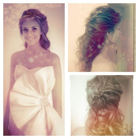 special occasion hairstyles half up half down elegant hairstyles curly hairstyles half up half down