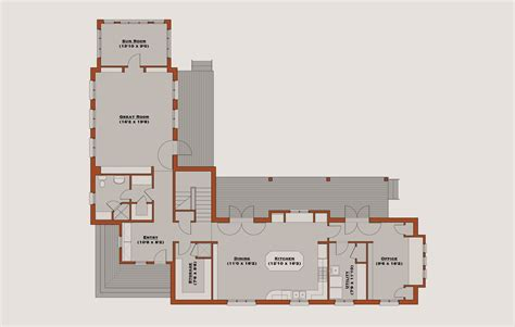 l tower floor plans farmhouse style house plan 4 beds 4 baths 3465 sq ft