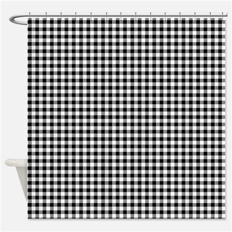 Black And White Gingham Curtains Gingham Shower Curtains Gingham Fabric Shower Curtain Liner