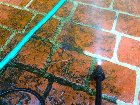 How To Clean Moss Patio by How To Ged Rid Of Mold Mildew Or Moss
