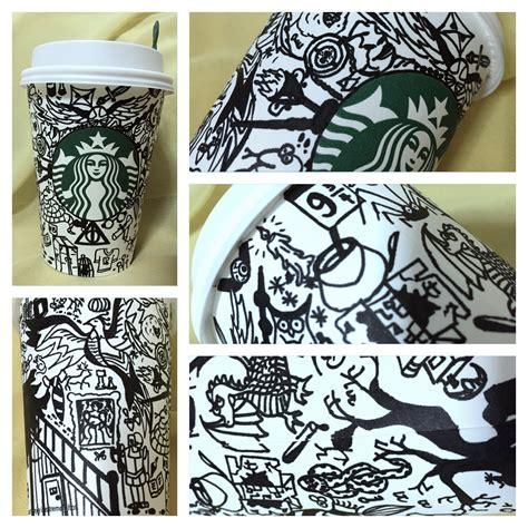 starbucks doodle travel mug starbucks cup doodle 3 harry potter by isnani on