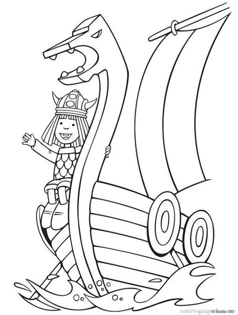 Viking Coloring Pages Coloring Home Coloring Pages Vikings