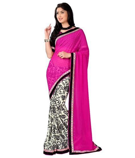 chiffon hairstyle style feathers purple faux chiffon saree buy style