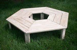 wrap around tree bench plans square wrap around tree bench plans woodworking projects