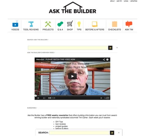 best home improvement websites ask the builderask
