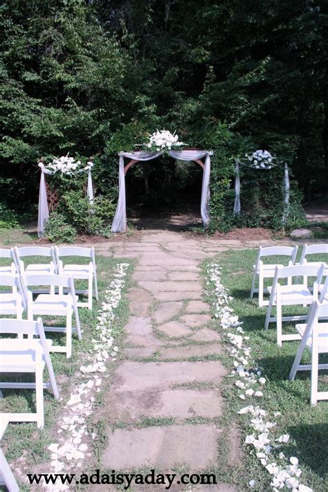 Wedding Arbor With Tulle by Blue Tulle Wedding Pergola Center Portion And Side