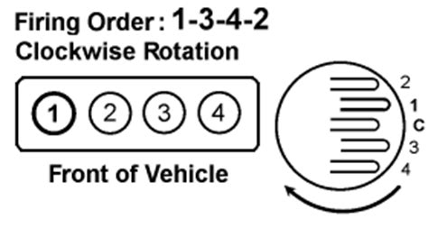 1342 firing order diagram solved what is the firing order for a mazada 626 year fixya