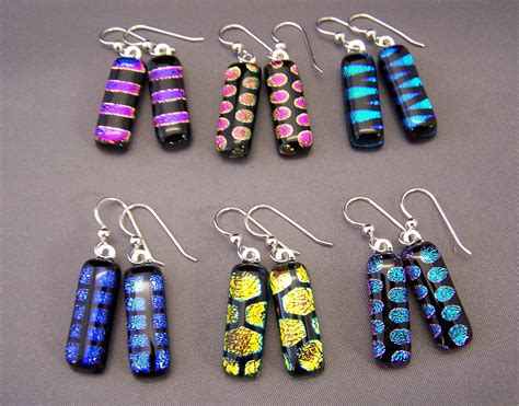 how to make dichroic glass jewelry at home dichroic glass jewelry jewelry flatheadlake3on3