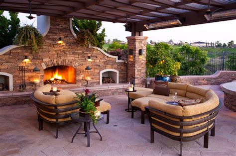 outdoor living designs mediterranean outdoor decor enhancements decosee com
