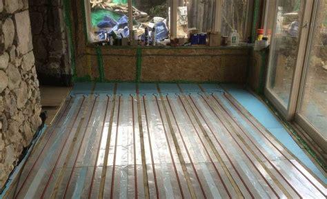 The Slow Journey to Underfloor Heating   Homebuilding