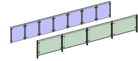 revit barandilla cristal revitcity object railing glass