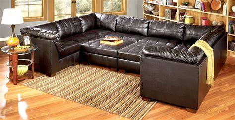 cheap black leather sectional sofas unique modern leather sleeper sofa sectional sectional sofas