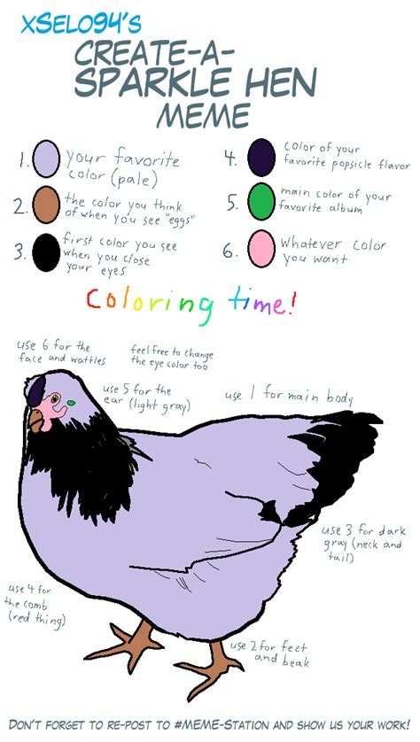 Hen Meme - sparkle hen meme by purplephoneixstar on deviantart