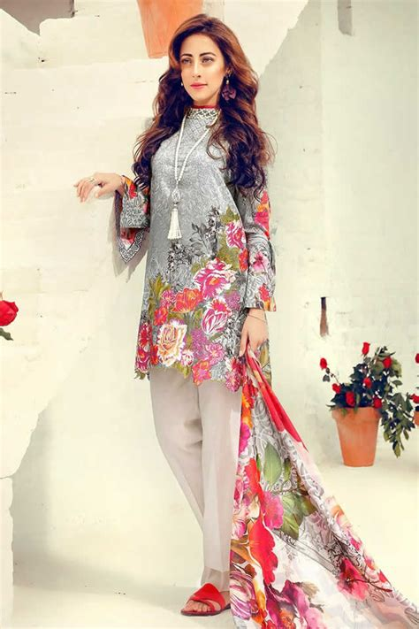 dress design lawn pakistan images of pakistani lawn dresses 2018 latest designer