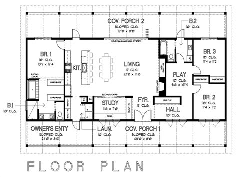 House Floor Plans With Measurements | simple floor plans with measurements on floor with house