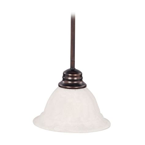 mini pendant light with white glass 91066mroi