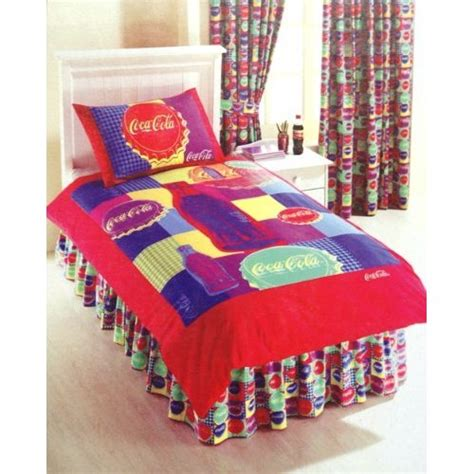 coca cola bedroom kids double duvets childrens bedding direct