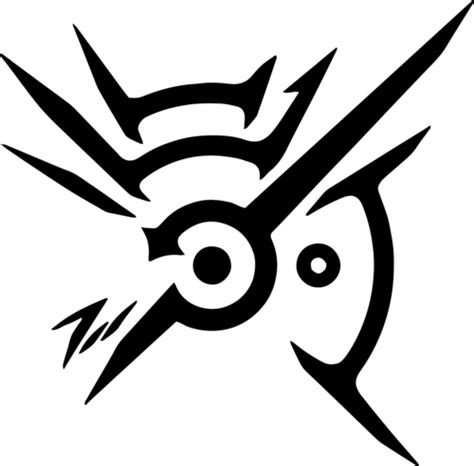 tattoo logo photoshop dishonored tattoo mark of the outsider found on left
