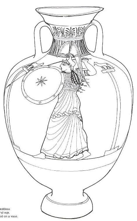 greek vases coloring page free coloring pages of acccient greek vases