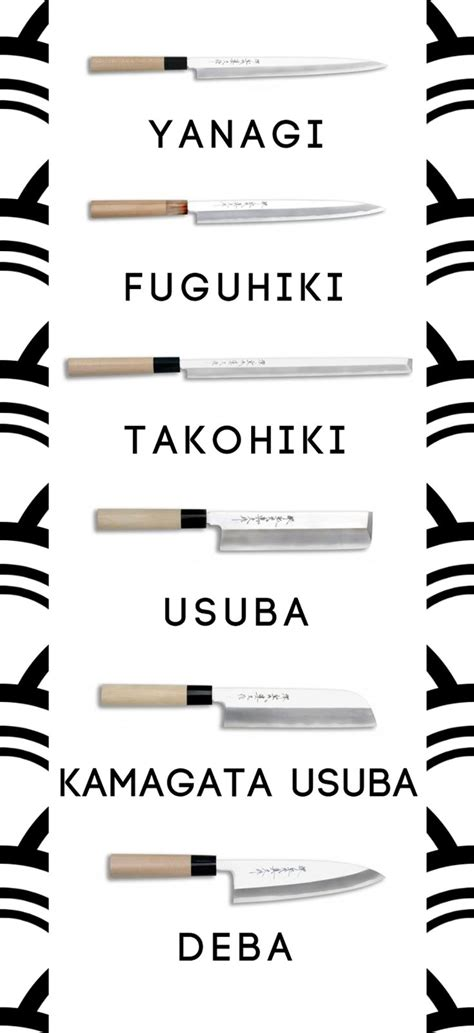 Types Of Japanese Kitchen Knives 1000 Ideas About Japanese Kitchen Knives On Chef Knives Kitchen Knives And Knife