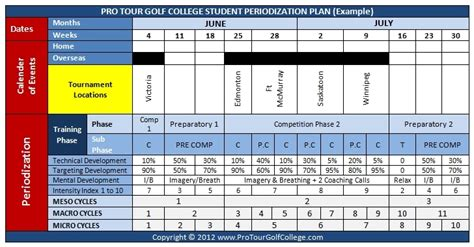 periodisation plan template periodisation plan template 28 images p 233