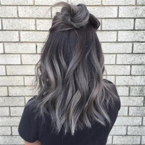black grey hair best 25 gray hair ideas on pinterest gray silver hair